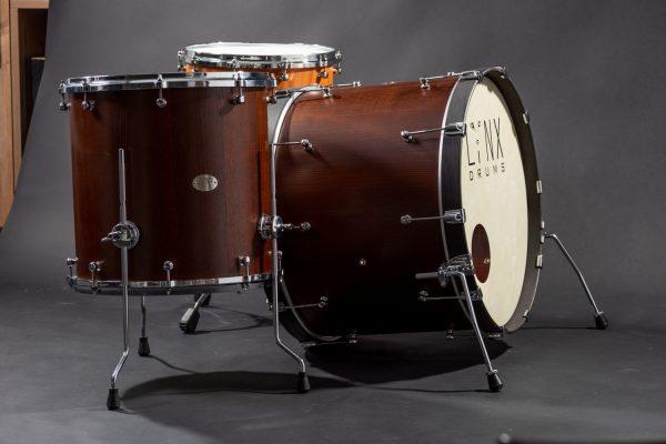 Snaredrum_Lynx_Custom_Drums, Ash Shellset